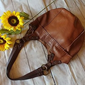 The Sak Classic Leather Hobo Bucket Bag